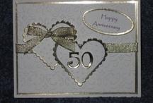 biglietto anniversario / topolino punto croce