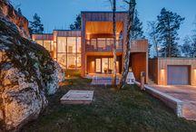 Nice house. / Architect: www.gabrielminguez.com Construction and project management: wwe.designfabriken.info