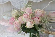 Flowers with Tea