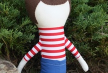 boy dolls / by Ginger Allington