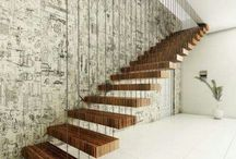 Indor stairs house project