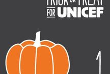 Trick-or-Treat for UNICEF / Graphics and other items to be used in conjunction with Trick-or-Treat for UNICEF