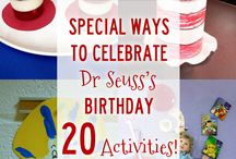 Dr. Seuss Preschool Activities / Let's have some Dr. Seuss learning fun with all of the ideas, tips, tricks, and decorations that I've compiled. Looking for more fun ideas, follow me here and at HomeschoolPreschool.net
