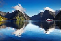 New Zealand / Travel with AutoVenture to New Zealand. #luxurytravel #hobbit #everythingsgreen