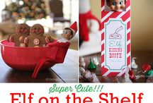 Elf On The Shelf / Elf on the Shelf ideas for mom and dad.