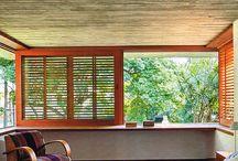 Esquadrias: portas e janelas