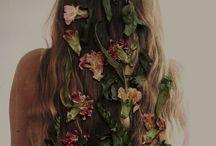makeup and hair / by Sandra Szwarcberg