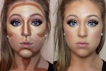 konturowania twarzy