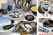 Penguins hockey party / by Lori Cagnacci