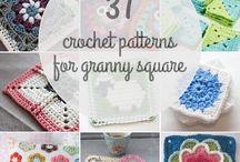 37 granny square patterns