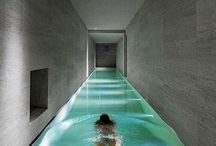 Pool in Haus
