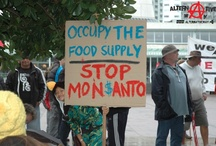 March Against Monsanto / Auckland New Zealand