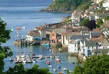 DAY TRIPS - FOWEY, SOUTH CORNWALL / Fowey (pronounced 'Foy') in South Cornwall and surrounding places including Bodinnick, Menabilly.  About 56 miles (1hr 20mins) from us.