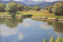 """Michael Griffin / The well renowned painter and teacher Audrey Flack once said, """"Great art is in exquisite balance… It is restorative."""" My mission is continually to strive for this """"exquisite balance"""" in my artwork and to create windows to the natural world that are restorative to the human spirit."""