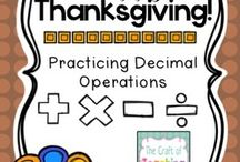 Thanksgiving Classroom Fun / Fun ideas to make Thanksgiving a part of your lesson plans!