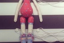 Amigurumi boneca