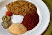 Spice Mixes and Sauce Recipes