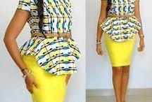 My African attire