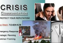 Crisis Communication / Plan for, and respond correctly in the event of a crisis. We offer strategic planning, staff training and one-on-one coaching to protect your hard earned reputation.