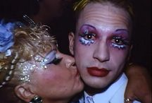 Michael Alig with his mother Elke