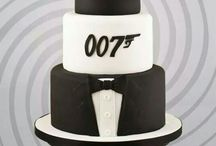 Sweet table James Bond