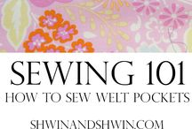 Sewing technique - pocket