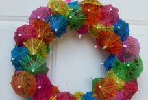 Wreath / Wreath DIY, Wreath for Front Door, wreath decor, spring wreath, summer wreath, Wreath Christmas, Season Wreath, winter wreath, fall wreath, autumn wreath, wreath making