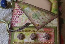 Scrapbook mini albums