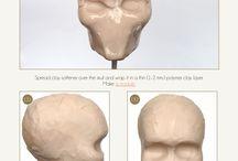 Proporción busto de barro