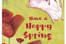Spring Cards from Cricket Media / We created a collection of delightful Spring Cards using the cover art of some of our past magazine covers. Download, Print and Send Some Spring Cheer!  Happy Spring from all of us at Cricket Media.