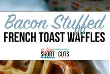 Waffled / Waffle maker everything