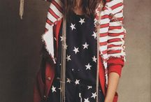 American Themed Outfits / Looking for Made in the USA outfits that showcase your American pride? Check out this board!