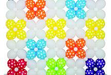 muri di palloncini