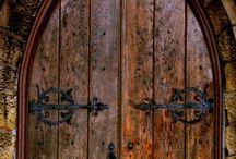 Ahşap masif dış kapı