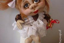 Куколки из капрона