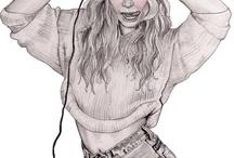 Hannah#Müller#fashion#illustrator / Illustrazione#