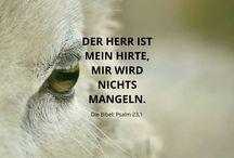 Psalmen | Psalm 23 / Der Psalm 23 in Bildern.