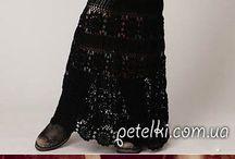 платья / вязаные платья