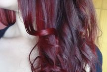My Dark Brown - Burgundy Red Ombre Hair