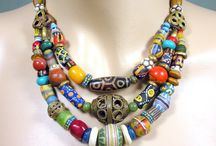 Necklaces african