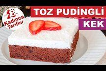 kolay puddingli kek