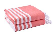 Turkish Towels / Turkish Towels (also called Peshtemal or Fouta towels) are made with 100% finest quality cotton which has extra long fibers. The long fiber cotton with few joints which leads to very stronger and smoother cotton threads. The special cotton material through strict and advanced processing technology, JIAMEI Textile Brand Turkish towels are lightweight, softer, super absorbent and dry very quickly than traditional cotton terry towels. They are colorful, very extremely versatile for bath and beach.
