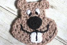 appliques, crocheted / by Brenda Johnson