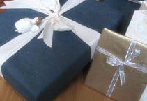 Joulun kauneimmat paketit / Ideoita ei niin perinteiseen lahjapaketointiin.  Useimmissa on käytetty lisänä luonnonkasveja