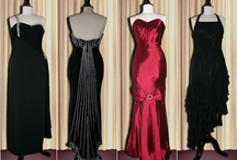Women's dresses / I gave my 8-year-old daughter the task of finding some glamorous evening wear.