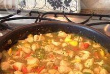 chicken n mango curry