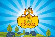 Kerala BId Wars / Visit Kerala Bid Wars is a unique bidding game from Kerala Tourism where you could win a dream holiday package for a nominal price. Here's how: a. Sign up at the Visit Kerala app. b. Look for the package that's on offer. c. Bid the lowest possible price for the same If your bid is not the same and is lower than that of any other contestant, then you will win the holiday package for that amount. Desktop: http://bit.ly/KeralaBidWars Android Mobile: http://bit.ly/VisitKeralaBidWars