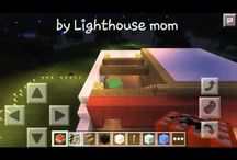 My YouTube videos Minecraft PE world / Build a house in Minecraft world, how I want it to look.
