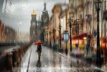 Photographie de pluie