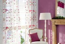 Wiosenne firany i zasłony | Spring Curtains